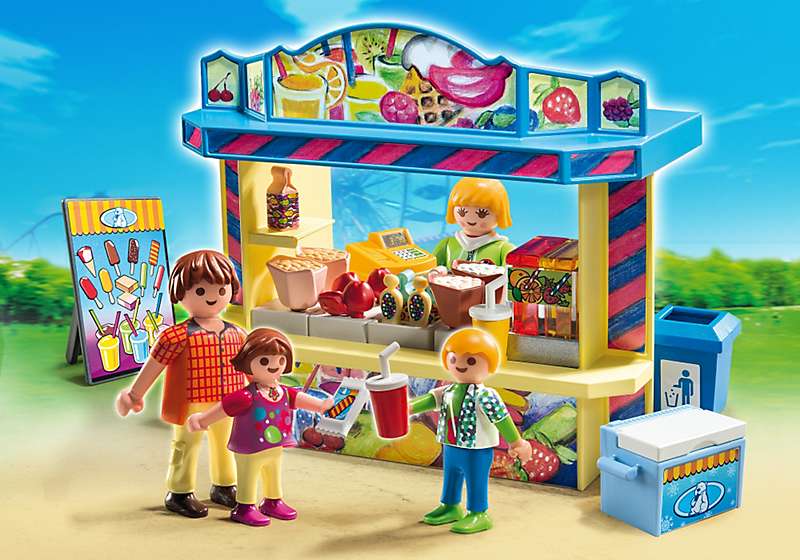 Игровой набор из серии «Парк развлечений» - Киоск со сладостями от Toyway