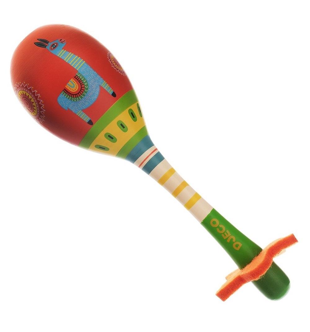 Купить Деревянный музыкальный инструмент – Маракас, Djeco