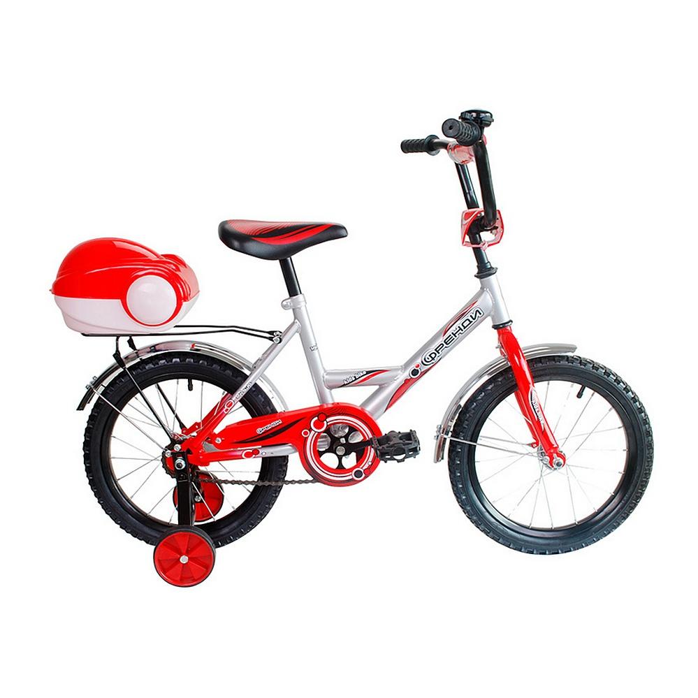 Двухколесный велосипед Мультяшка Френди, диаметр колес 16 дюймов, красныйВелосипеды детские<br>Двухколесный велосипед Мультяшка Френди, диаметр колес 16 дюймов, красный<br>