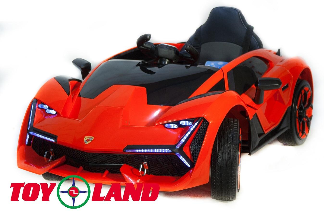 Электромобиль ToyLand Lamborghini YHK2881 красного цвета