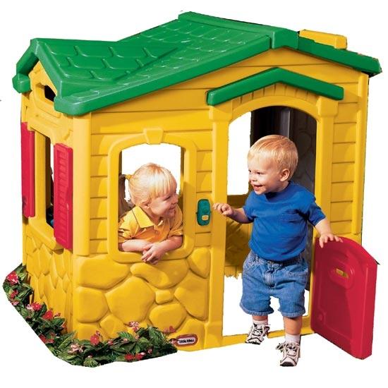 Домик игровой «Волшебный звонок» - Пластиковые домики для дачи, артикул: 96225