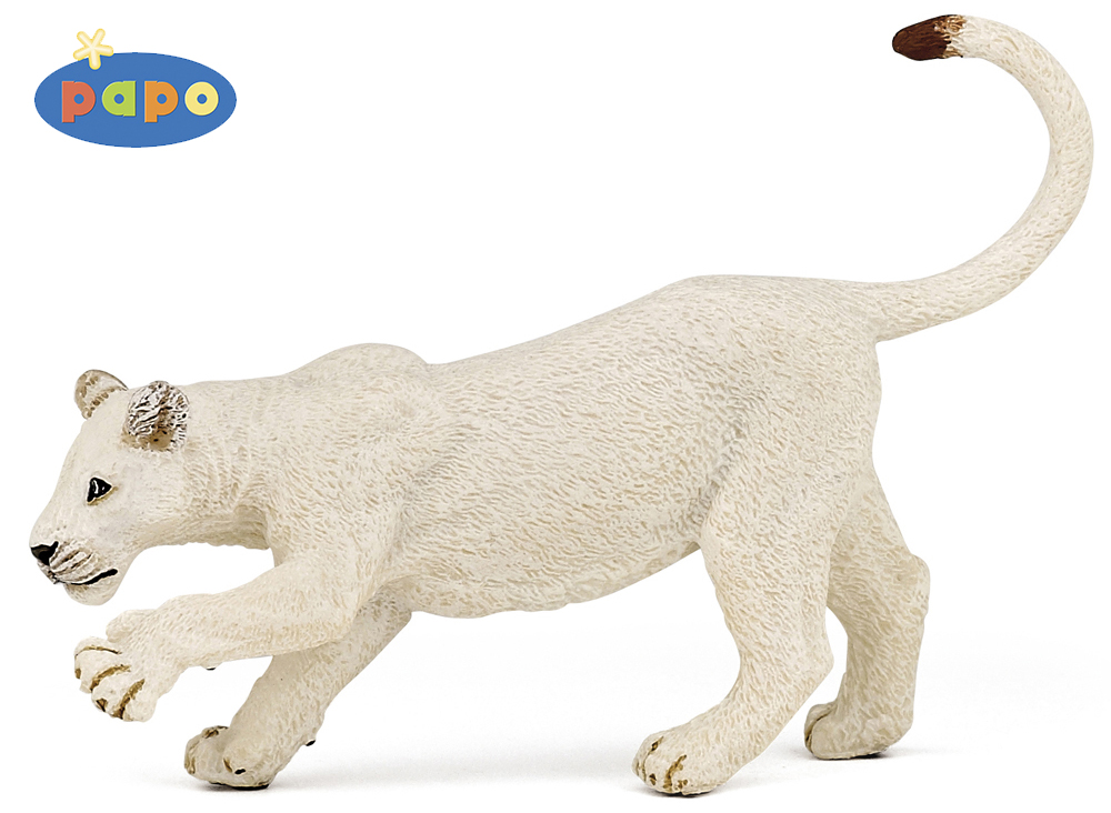 Белая молодая львицаДикая природа (Wildlife)<br>Белая молодая львица<br>