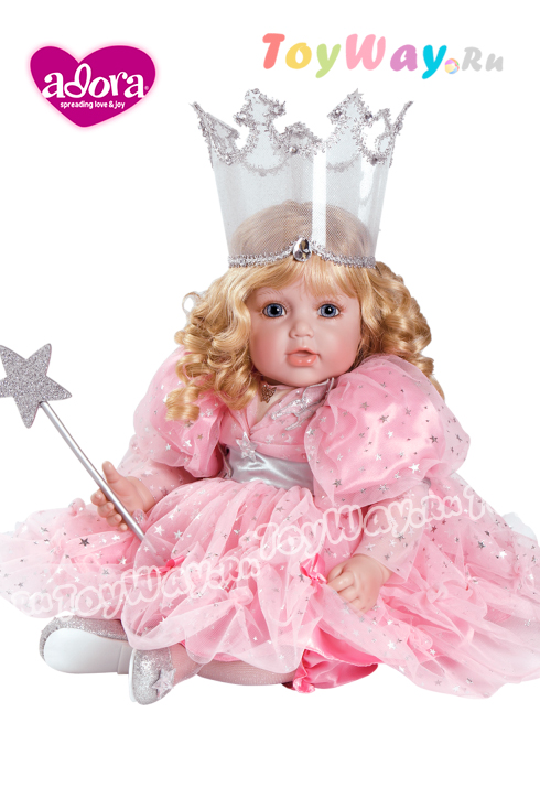 Кукла серии Волшебник страны ОЗ - Глинда - добрая волшебница, 51 смКуклы Адора<br>Кукла серии Волшебник страны ОЗ - Глинда - добрая волшебница, 51 см<br>