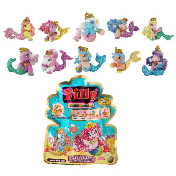 Лошадка «Filly» коллекционная – РусалочкаЛошадки Филли Filly Princess<br>Лошадка «Filly» коллекционная – Русалочка<br>
