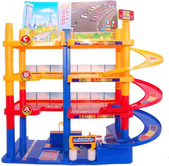 Игровой набор – Гараж городскойДетские парковки и гаражи<br>Игровой набор – Гараж городской<br>