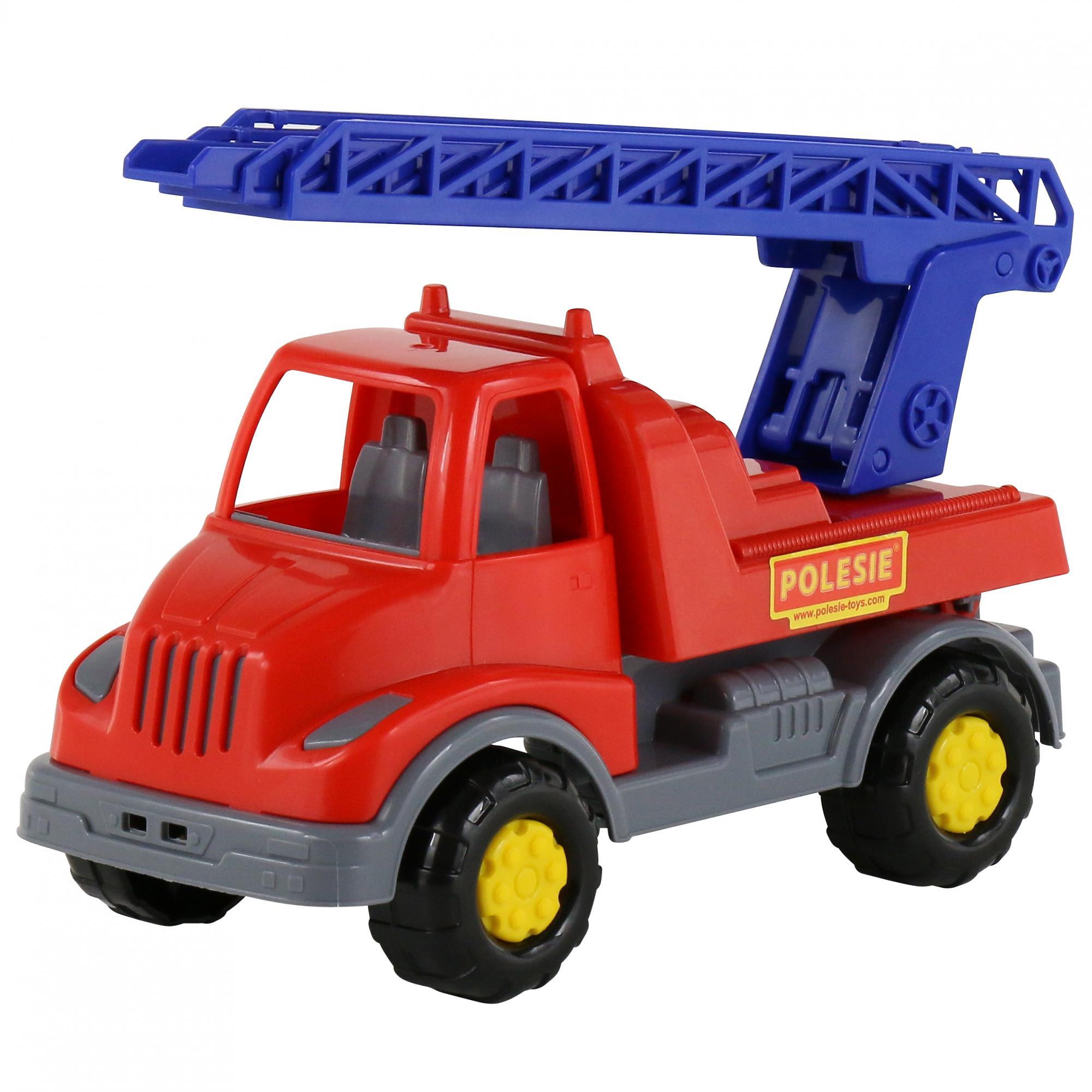 Купить Автомобиль из серии Леон, 2 вида: пожарная спецмашина и коммунальная спецмашина, Полесье