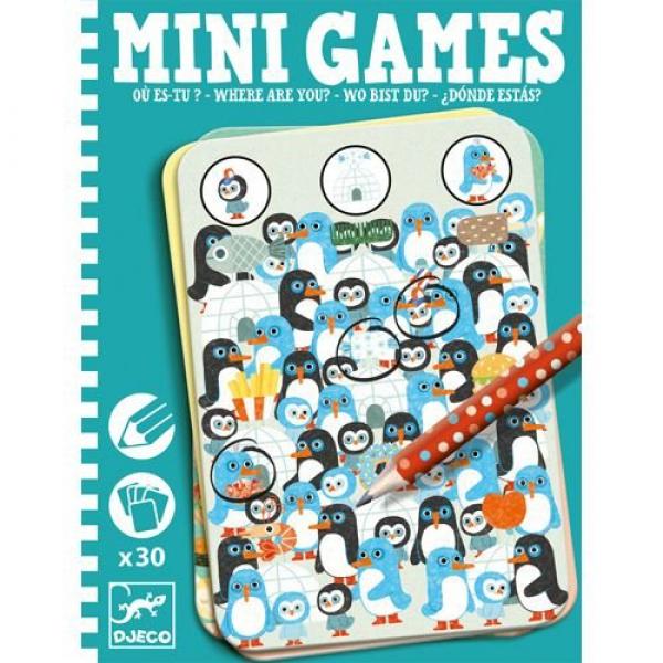 картинка Мини игра - Где ты? от магазина Bebikam.ru