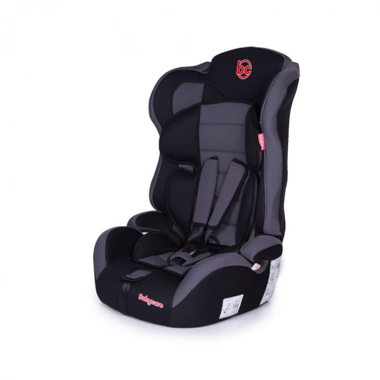 Детское автомобильное кресло Upiter Plus группа I/II/III, 9-36 кг., 1-12 лет, цвет – черно-серыйАвтокресла (9-45кг)<br>Детское автомобильное кресло Upiter Plus группа I/II/III, 9-36 кг., 1-12 лет, цвет – черно-серый<br>