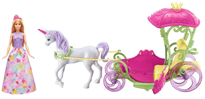 Barbie® из серии Дримтопия - Конфетная карета и куклаКуклы Barbie (Барби)<br>Barbie® из серии Дримтопия - Конфетная карета и кукла<br>