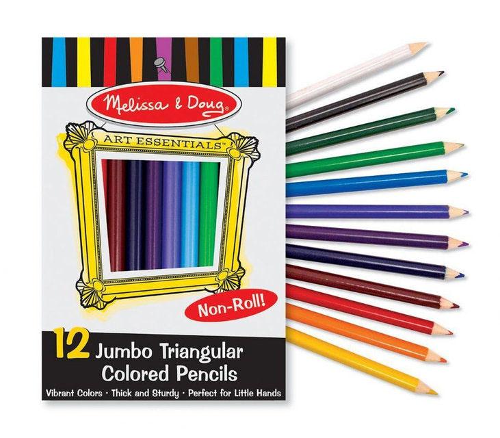 Melissa&Doug Набор цветных карандашей Творчество, 12 шт.