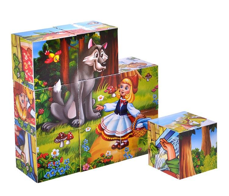 9 развивающих кубиков - Сказки по цене 167