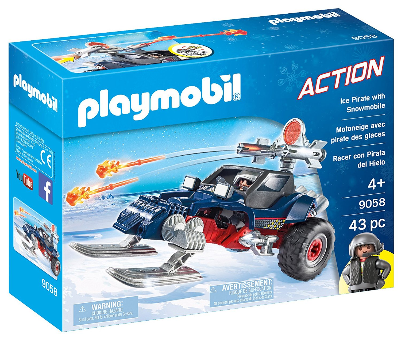 Купить Игровой набор из серии Полярная экспедиция: Ледяной пират со снегоходом, Playmobil