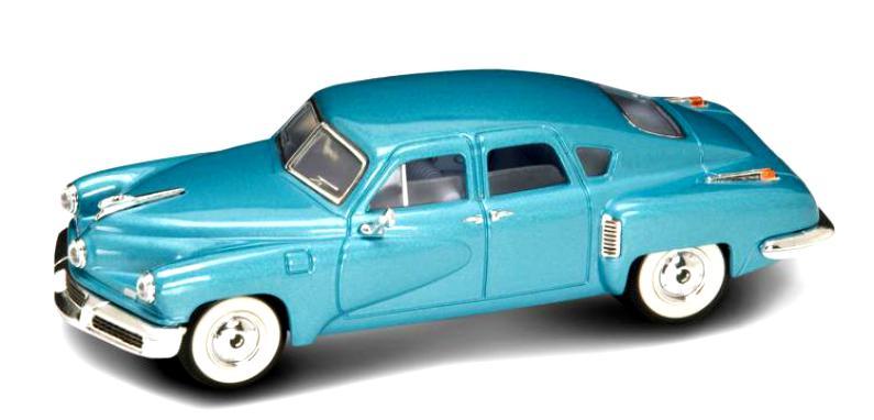 Коллекционный автомобиль - Такер Торпедо, образца 1948 года, масштаб 1/43, серия ПремиумВинтажные модели<br>Коллекционный автомобиль - Такер Торпедо, образца 1948 года, масштаб 1/43, серия Премиум<br>