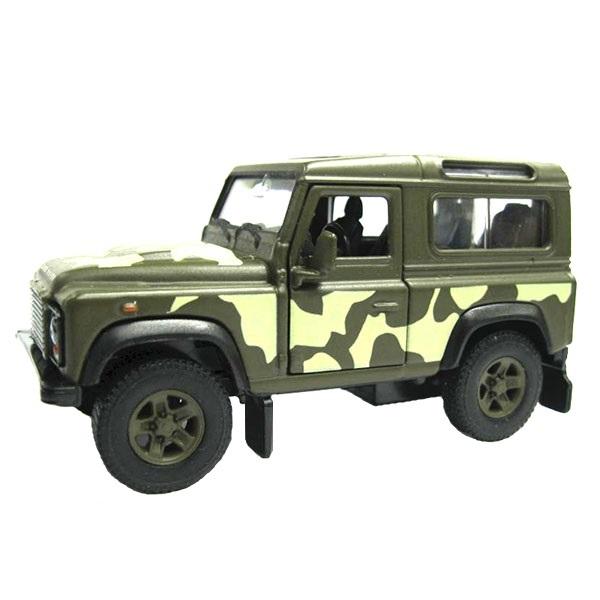 Игрушечная модель военной машины – Land Rover Defender, 1:34-39Land Rover<br>Игрушечная модель военной машины – Land Rover Defender, 1:34-39<br>