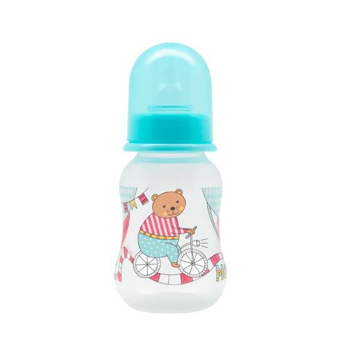 Бутылочка для кормления из серии Just Lubby с молочной соской, от 0 мес., 125 мл.