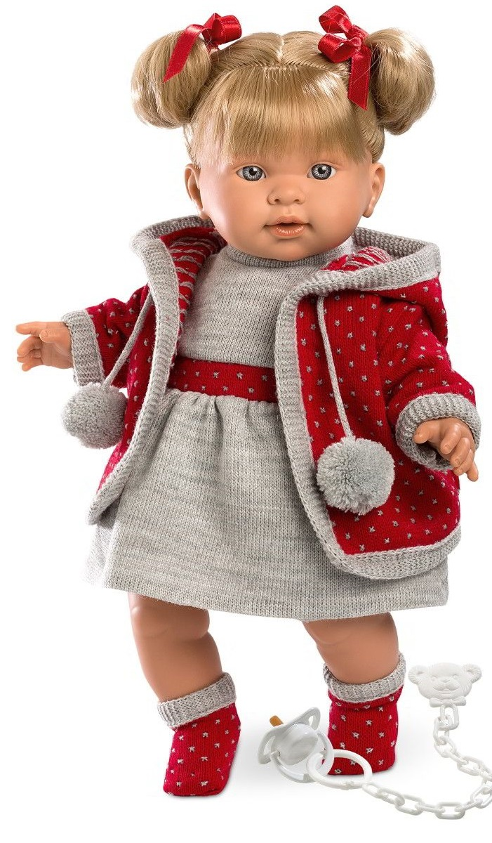 Кукла Пиппа, озвученная, 42 см.Испанские куклы Llorens Juan, S.L.<br>Кукла Пиппа, озвученная, 42 см.<br>