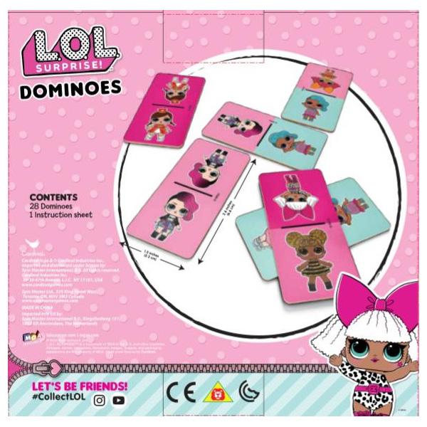 Набор из трех настольных игр Лол: пазл, домино и джамбо фото
