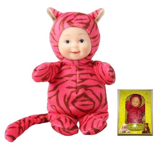 Кукла из серии «Детки - тигрики», 15 смКуклы детки ANNE GEDDES<br>Кукла из серии «Детки - тигрики», 15 см<br>