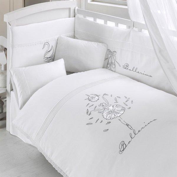 Комплект постельного белья из 3 предметов серия  Ballerina - Спальня, артикул: 171493