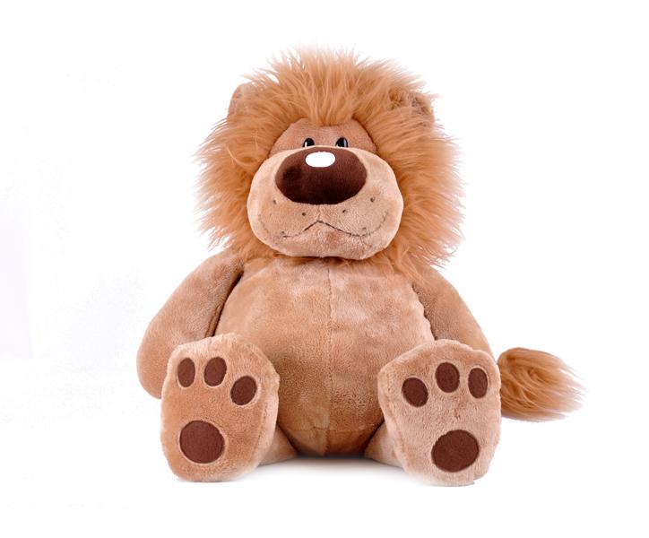 Мягкая игрушка – Лев Лева сидячий, 40 см.Животные<br>Мягкая игрушка – Лев Лева сидячий, 40 см.<br>