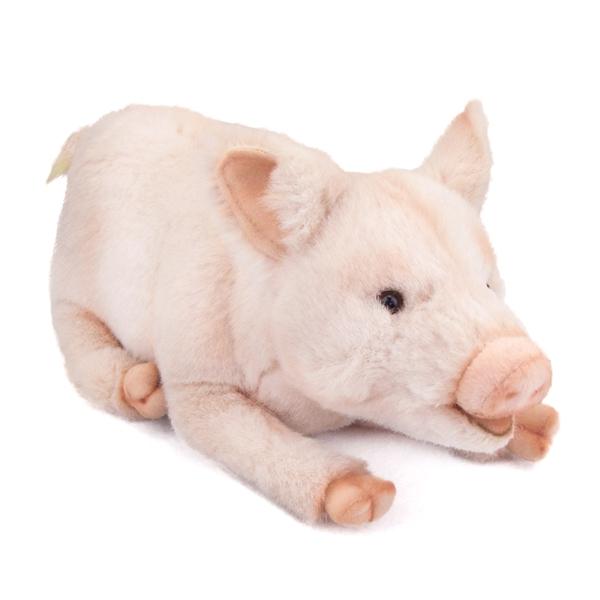 Мягкая игрушка - Свинка, 28 см.Животные<br>Мягкая игрушка - Свинка, 28 см.<br>