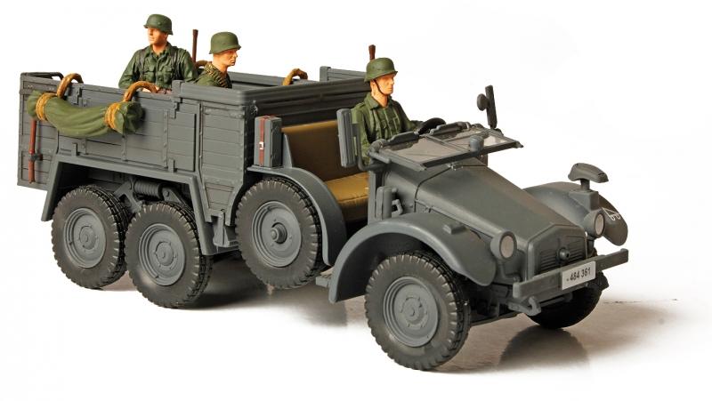 Модель немецкого грузовика - Kfz. 70, Восточный Фронт 1941, 1:32Военная техника<br>Модель немецкого грузовика - Kfz. 70, Восточный Фронт 1941, 1:32<br>