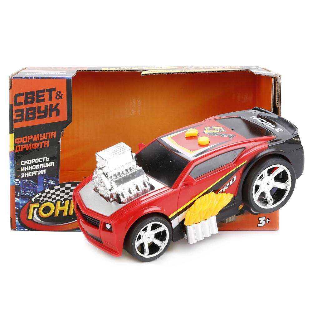 Купить Машина гоночная, свет и звук, на батарейках, Играем вместе