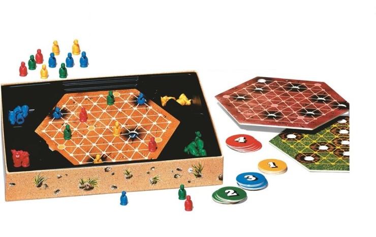 Настольная игра - Кроты кладоискатели