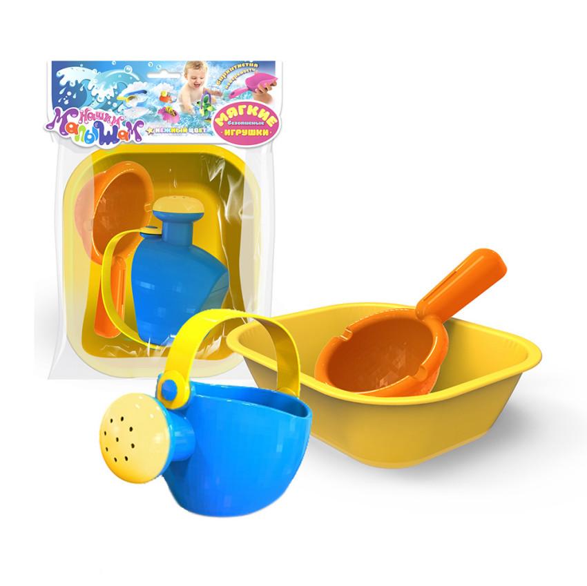 Купить Игрушка для ванны - Ванночка, лейка малая, ковш, Биплант