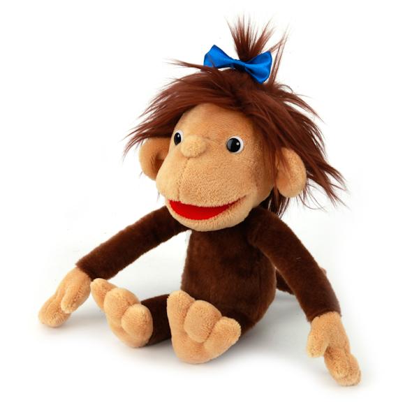 Озвученная мягкая игрушка - Мартышка, 28 смГоворящие игрушки<br>Озвученная мягкая игрушка - Мартышка, 28 см<br>