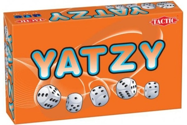 Детская настольная игра в кости Yatzy, с пяти летЛогические<br>Детская настольная игра в кости Yatzy, с пяти лет<br>