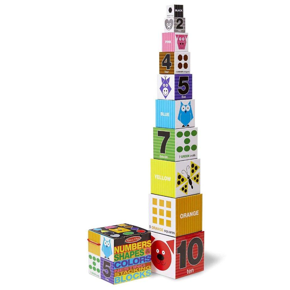 Набор кубиков - Цифры, формы и цвета из серии Первые навыкиКубики<br>Набор кубиков - Цифры, формы и цвета из серии Первые навыки<br>