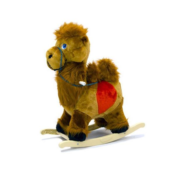 Меховая качалка. ВерблюдДетские кресла-качалки<br>Меховая качалка. Верблюд<br>