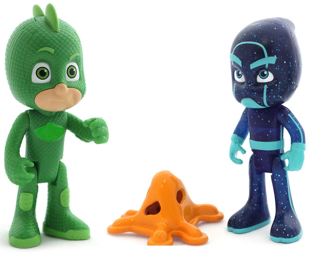 Купить Игровой набор фигурок: Гекко со светом и Ночной Ниндзя, JUST PLAY