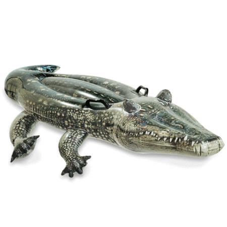 Плотик - АллигаторНадувные животные, круги и матрацы<br>Плотик - Аллигатор<br>