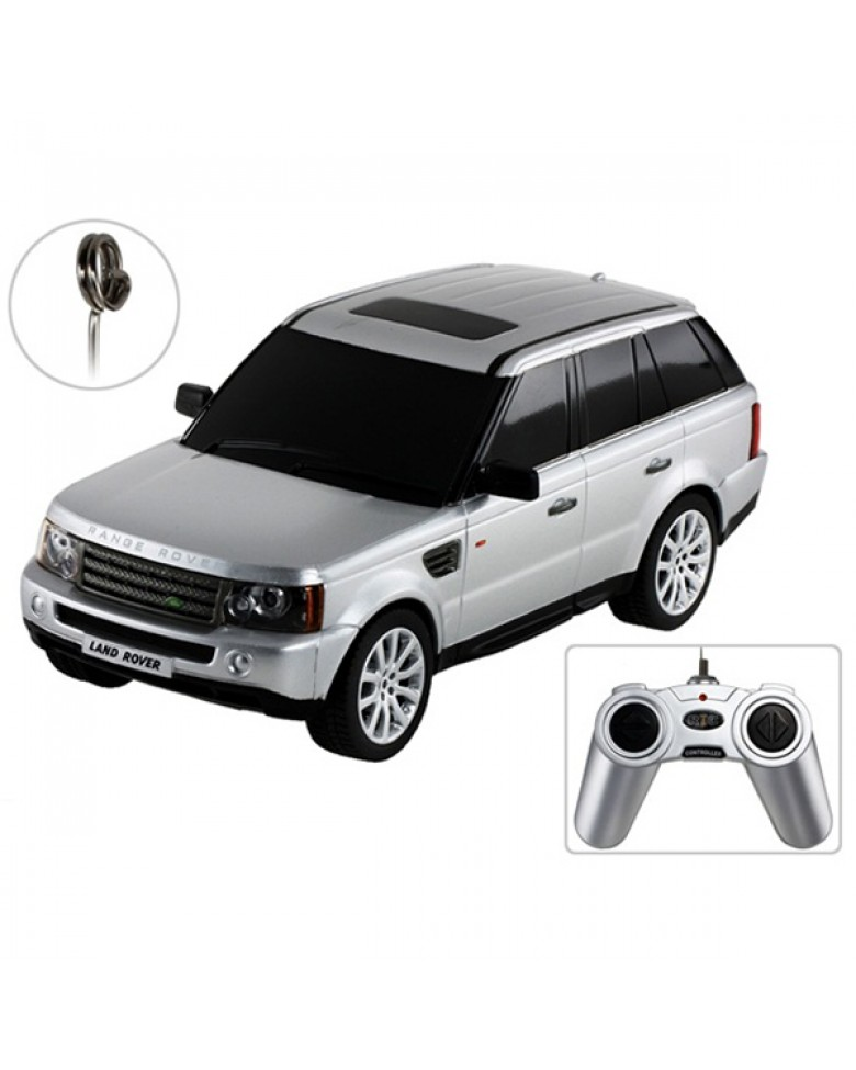 картинка Машина на р/у - Range Rover Sport, серебряный, 1:24 от магазина Bebikam.ru