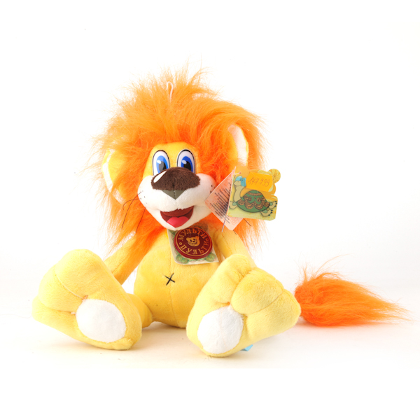 Купить Озвученная мягкая игрушка - Львенок, 23 см, Мульти-Пульти