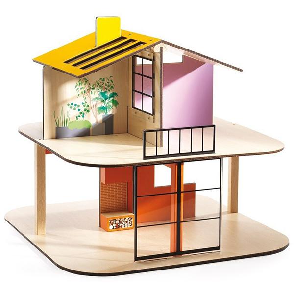 Дом цветной для куколКукольные домики<br>Дом цветной для кукол<br>