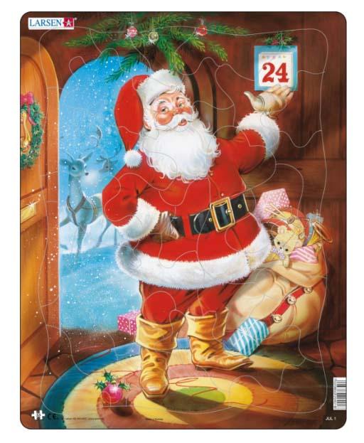 Купить Пазл - Санта Клаус, 33 детали, Larsen