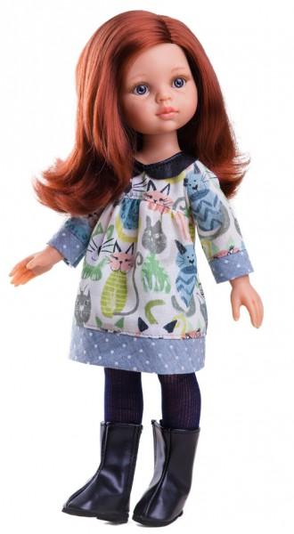 Кукла Кристи, 32 смИспанские куклы Paola Reina (Паола Рейна)<br>Кукла Кристи, 32 см<br>