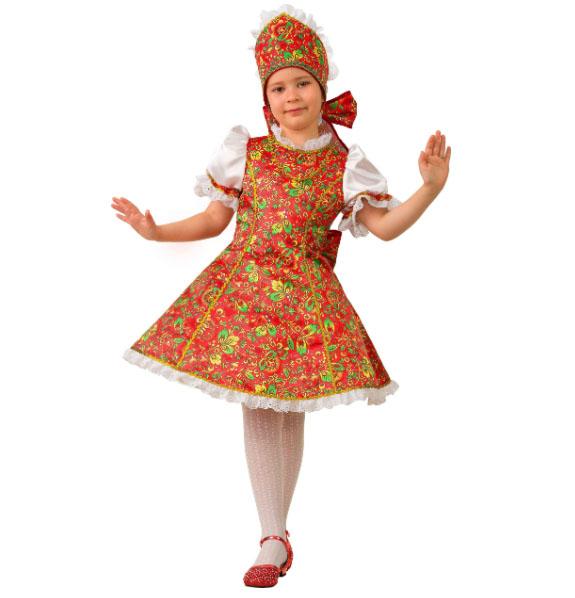 Карнавальный костюм для девочек - Марьюшка, Сказочная страна, размер 110-56