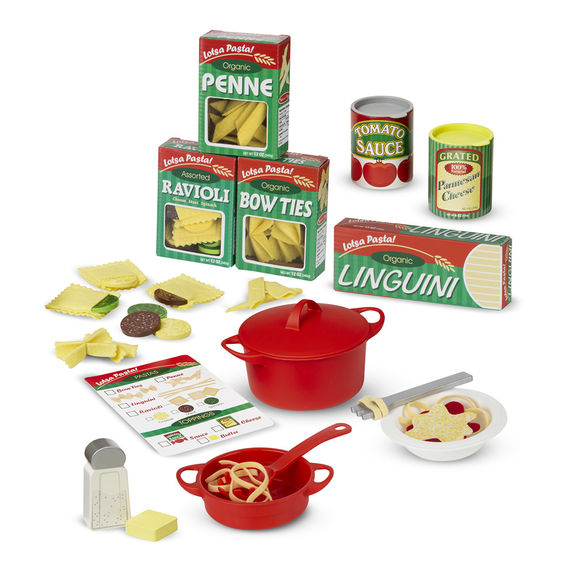 Готовь и играй – Набор для приготовления пастыАксессуары и техника для детской кухни<br>Готовь и играй – Набор для приготовления пасты<br>