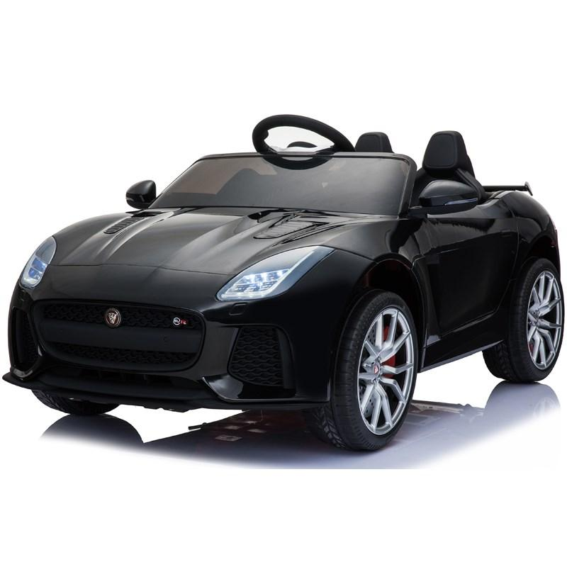 Электромобиль Jaguar F-tyre черного цвета