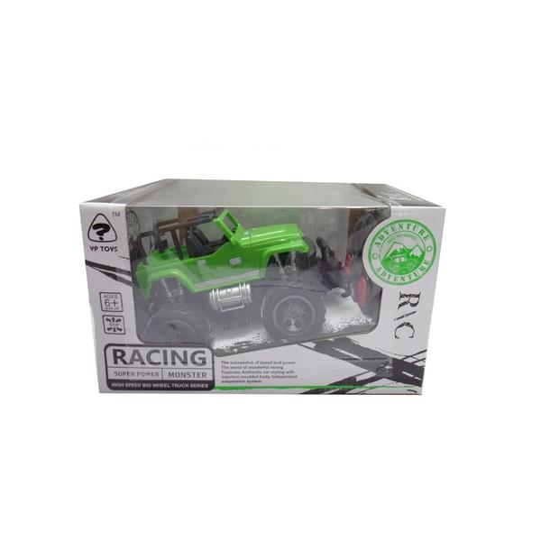 Машина – Внедорожник на радиоуправлении, 1:24, зеленыйМашины на р/у<br>Машина – Внедорожник на радиоуправлении, 1:24, зеленый<br>