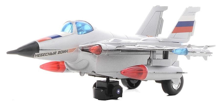 Купить Самолет – истребитель со световыми и звуковыми эффектами, Играем вместе