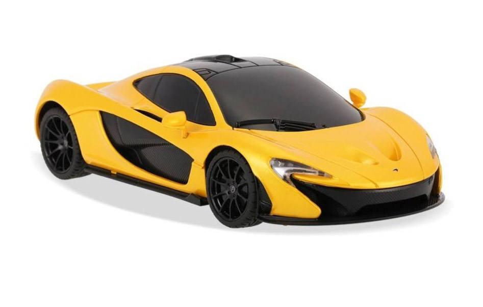 картинка Машина р/у 1:24 - McLaren P1, цвет желтый, 27MHZ от магазина Bebikam.ru