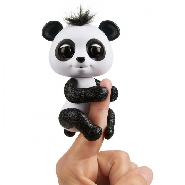 Купить Интерактивная панда Fingerlings – Дрю, 12 см, звук, WowWee