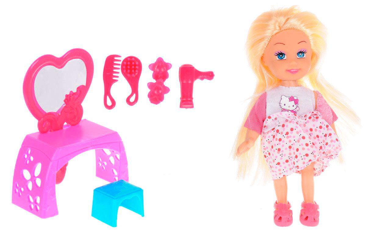 Кукла Hello Kitty - Машенька, 12 см с набором красотыКуклы Карапуз<br>Кукла Hello Kitty - Машенька, 12 см с набором красоты<br>