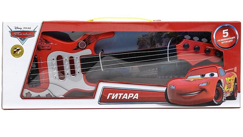 Гитара «Тачки Дисней» с медиаторомCARS 3 (Игрушки Тачки 3)<br>Гитара «Тачки Дисней» с медиатором<br>