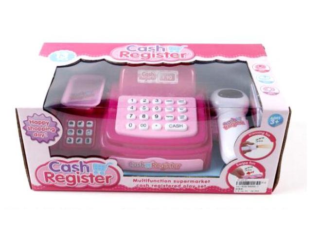 Кассовый аппарат со световыми и звуковыми эффектами - Детская игрушка Касса. Магазин. Супермаркет, артикул: 159795